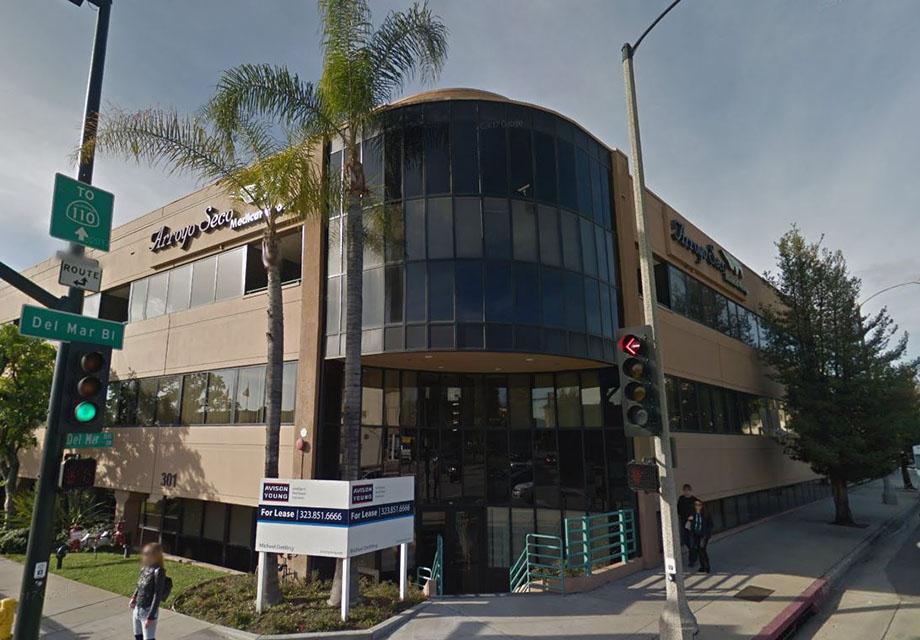 office building at 301 S. Fair Oaks Ave, Pasadena, CA 91105
