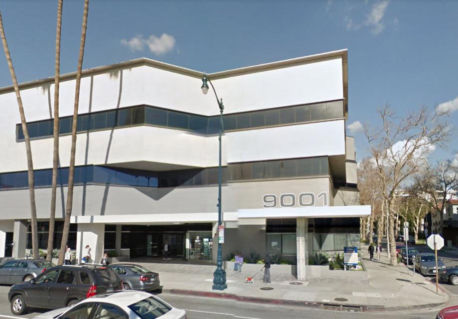 office building at 9001 Wilshire Blvd, Beverly Hills, CA