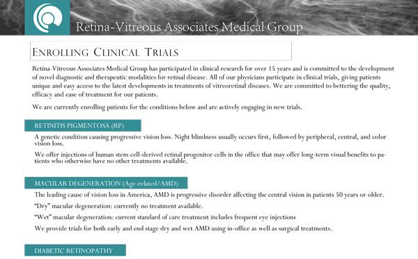 2021 Clinical Trials