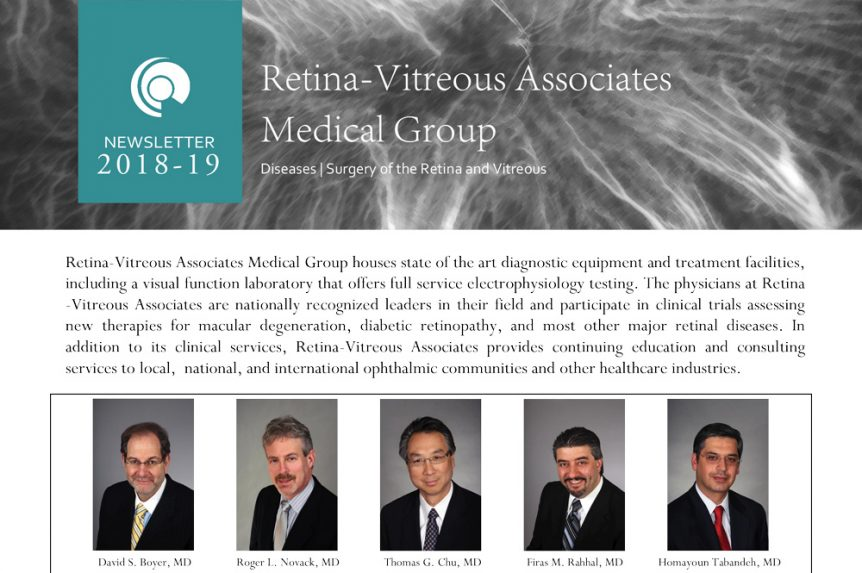 2018-2019 Newsletter of the RVAMG