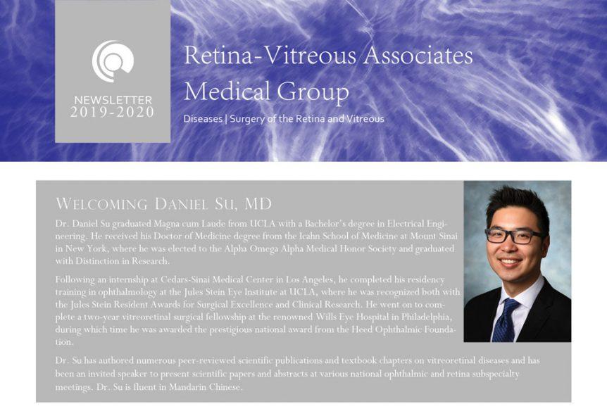 2019-2020 Newsletter of Retina Vitreous Associates Medical Group